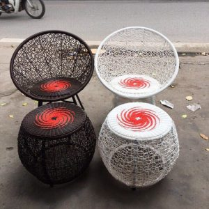 Bộ bàn ghế Muti mây nhựa