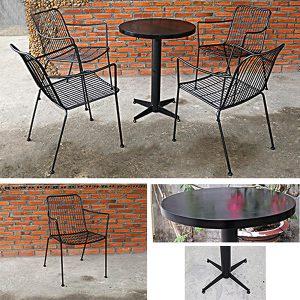 Bộ bàn ghế sắt nghệ thuật TT27