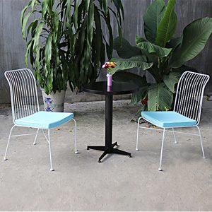 Bộ bàn ghế sắt nghệ thuật TT28