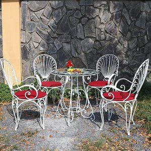 Bộ bàn ghế sắt nghệ thuật TT29
