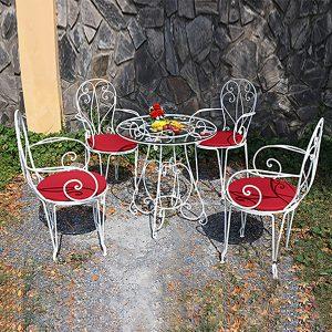 Bộ bàn ghế sắt nghệ thuật TT31