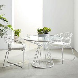 Bộ bàn ghế sắt nghệ thuật TT33