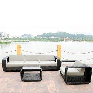 Bộ bàn ghế Sofa mây nhựa TT02