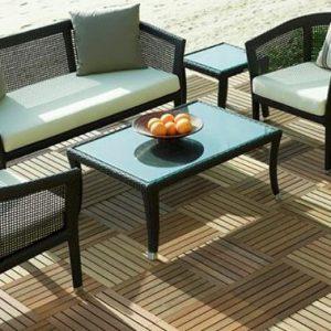 Bộ bàn ghế Sofa mây nhựa TT08