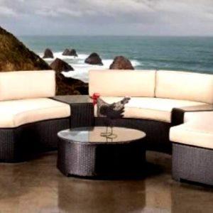 Bộ bàn ghế Sofa mây nhựa TT13