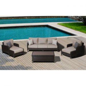 Bộ bàn ghế Sofa mây nhựa TT16
