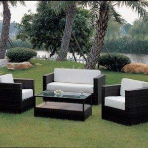 Bộ bàn ghế Sofa mây nhựa TT24