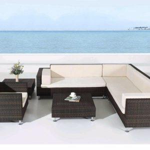 Bộ bàn ghế Sofa mây nhựa TT28