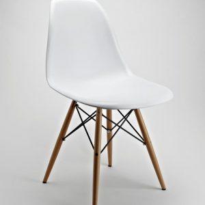 Ghế Eames nhựa chân gỗ