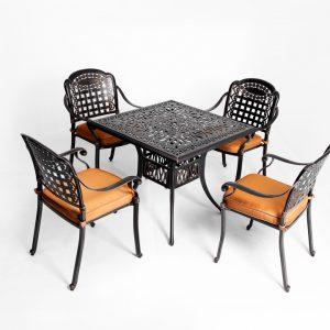 Bộ bàn ghế nhôm đúc BGNĐ 03