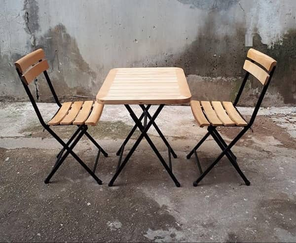 Bộ bàn ghế xếp gọn 02