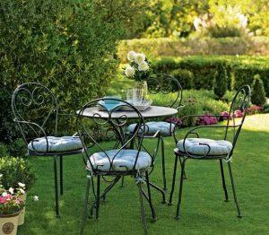 [Giới thiệu] bàn ghế café sắt uốn và những ưu điểm nổi bật