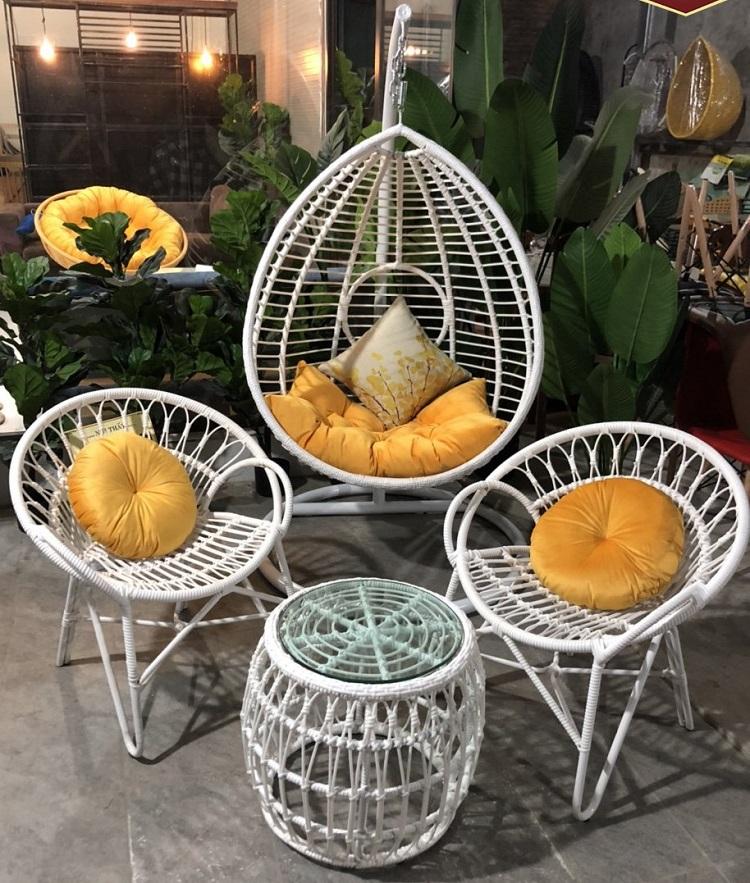 [Liệt kê] top ghế café dạng tròn đẹp, giá rẻ bất ngờ