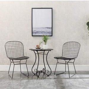 Bộ bàn ghế sắt nghệ thuật TT48
